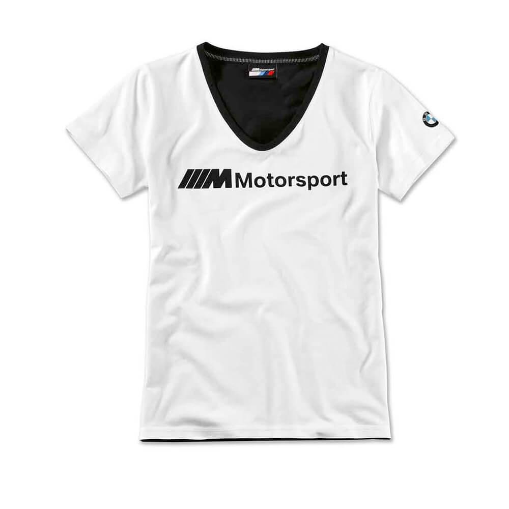 Camiseta Mujer Bmw M Motorsport V-Neck