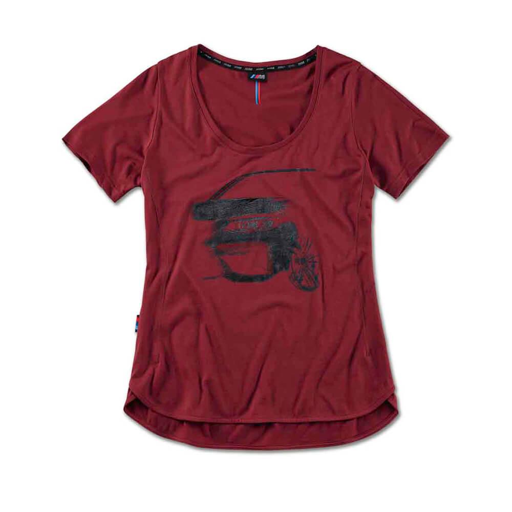 Camiseta Mujer Bmw M Logo 3D