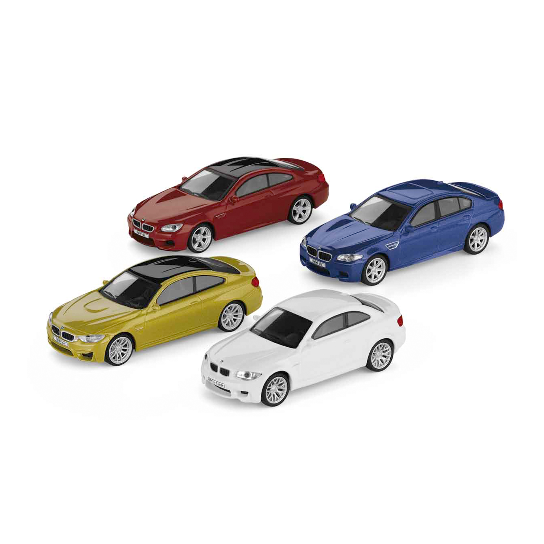 Conjunto de colección de 4 modelos de la serie M